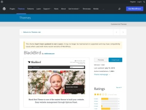 http://wordpress.org/extend/themes/BlackBird
