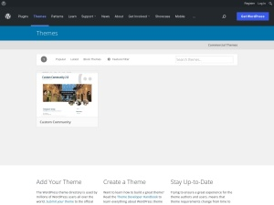 http://wordpress.org/extend/themes/Custom%20Community