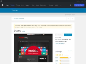 http://wordpress.org/extend/themes/Destro