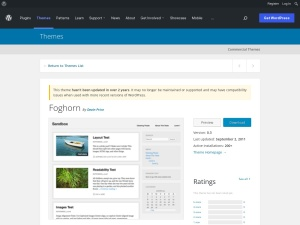 http://wordpress.org/extend/themes/Foghorn