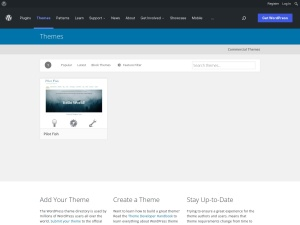 http://wordpress.org/extend/themes/Pilot%20Fish