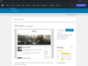 http://wordpress.org/extend/themes/Skirmish