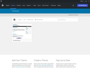 http://wordpress.org/extend/themes/The%20Bootstrap