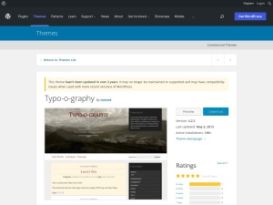 http://wordpress.org/extend/themes/Typo-o-graphy