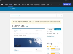 http://wordpress.org/extend/themes/elegantWhite