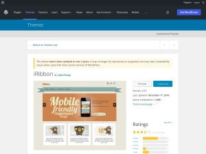 http://wordpress.org/extend/themes/iRibbon