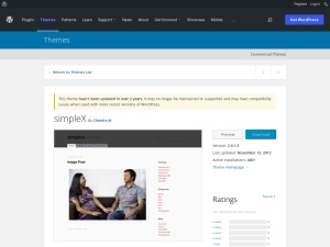 http://wordpress.org/extend/themes/simpleX