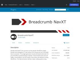 http://wordpress.org/plugins/breadcrumb-navxt/