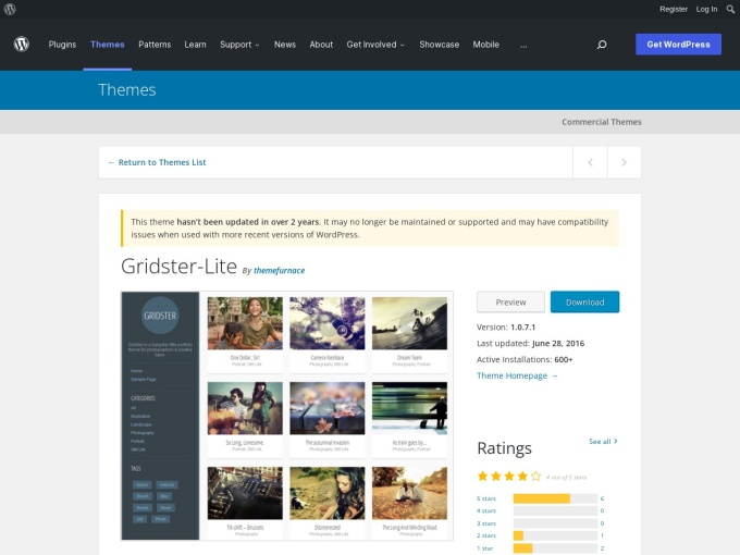 http://wordpress.org/themes/gridster-lite