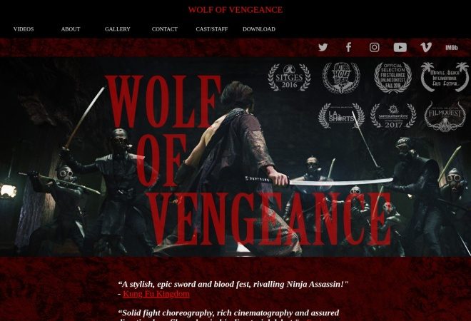 Screenshot of wovmovie.com