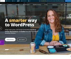 Screenshot of wpengine.com