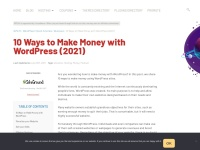 http://wplift.com/9-ways-you-can-make-money-with-wordpress-today