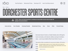 http://www.1610.org.uk/centres/dorchester-sports-centre