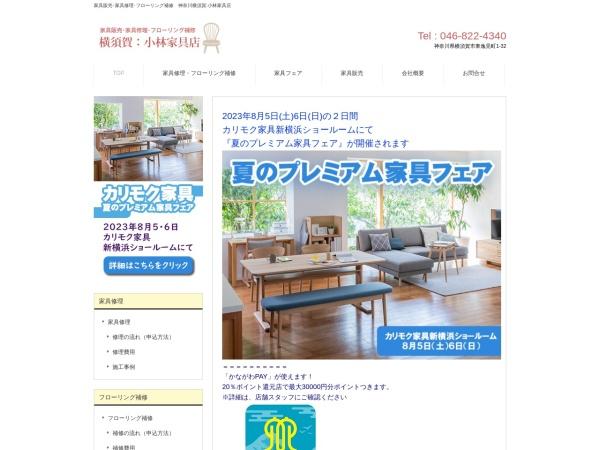 Screenshot of www.1st-kagu.com