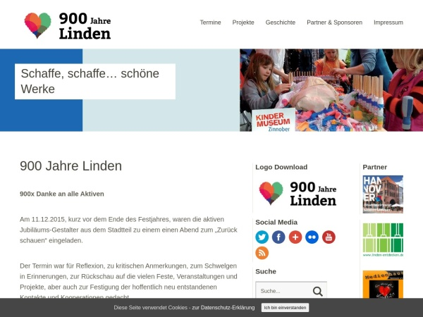 http://www.900JahreLinden.de