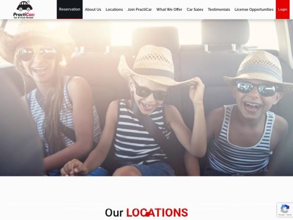 Screenshot of www.RentAWreck.ca