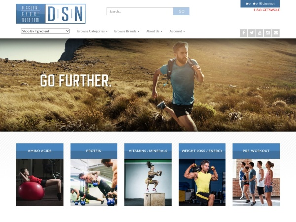 Screenshot of www.SportSupplements.com