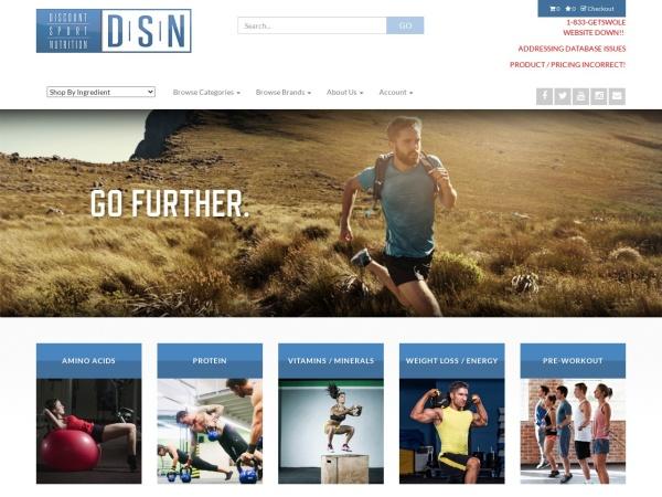 Screenshot of www.SportSupplements.com