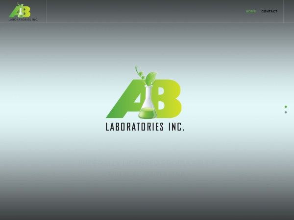 Screenshot of www.ablabs.ca