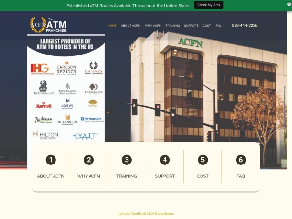 Screenshot of www.acfn.biz
