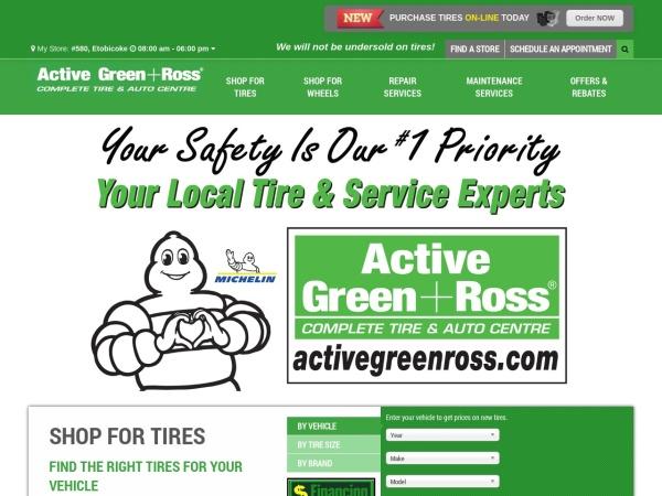 Screenshot of www.activegreenross.com
