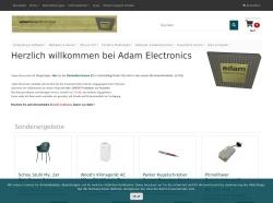 Screenshot of www.adams.ch
