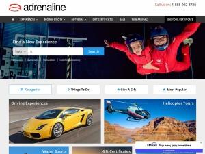 adrenaline.com Coupons