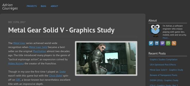 Screenshot of www.adriancourreges.com