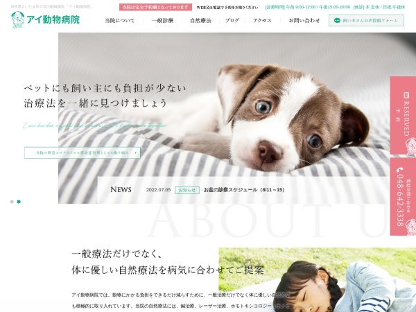 Screenshot of www.ai-pet.com