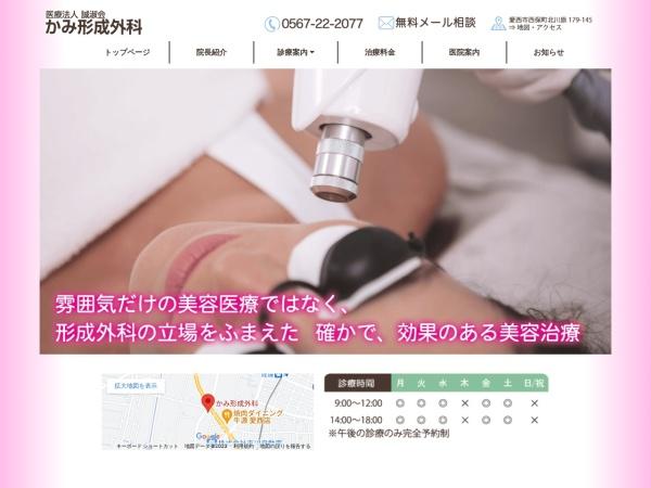 Screenshot of www.aisaisikeisei.jp