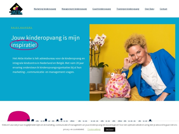 Screenshot of www.aktieatelier.nl