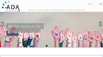 Screenshot of www.aktive-diabetiker.at