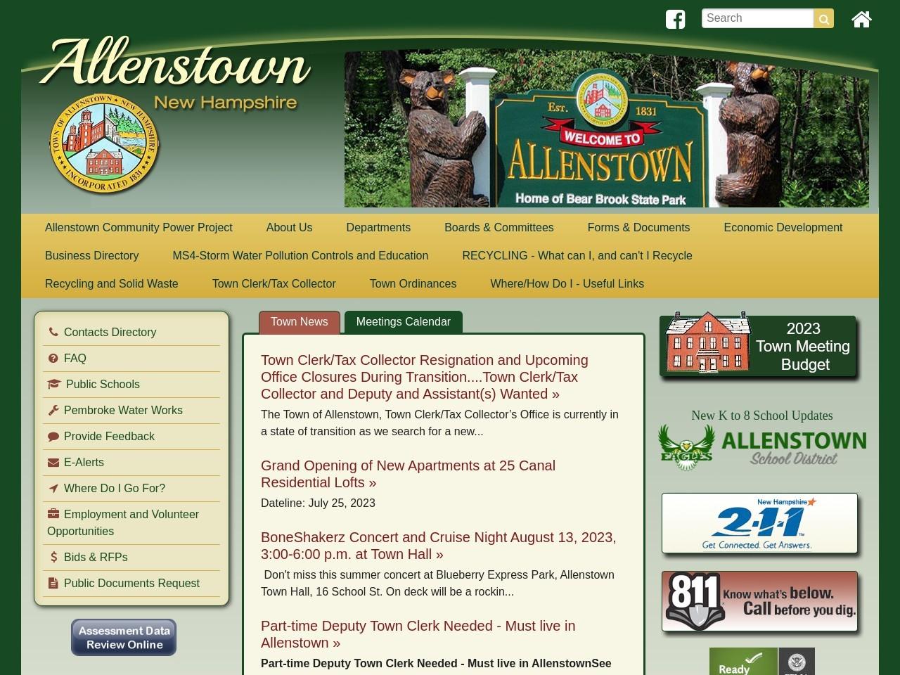allenstownnh.gov
