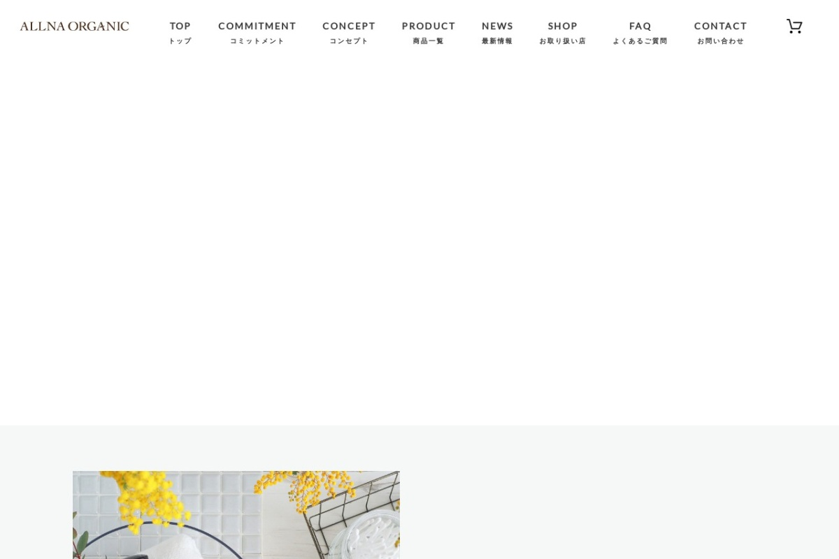 Screenshot of www.allna.jp