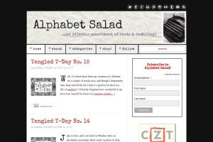 Alphabet Salad