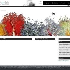 Screenshot of www.ambientartlab.at