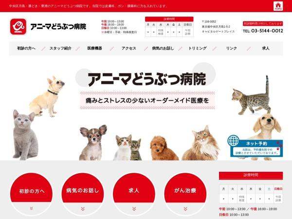 Screenshot of www.anima-ah.com