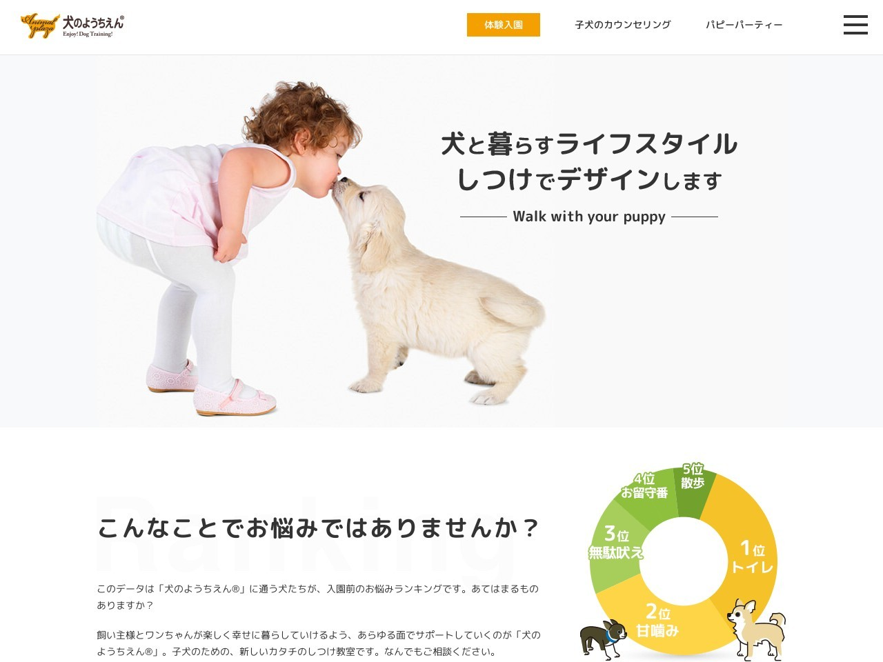アニマルプラザ犬のようちえん大阪堀江教室