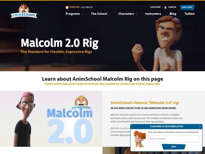 http://www.animschool.com/malcolmInfo.aspx