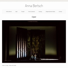 Screenshot of www.annabertsch.net
