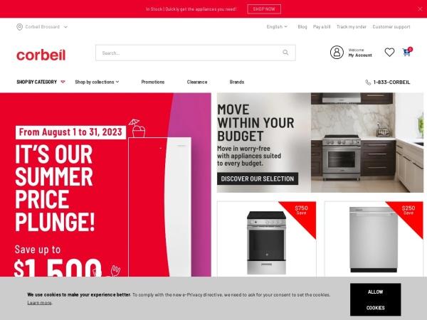 http://www.appliancescorbeil.com