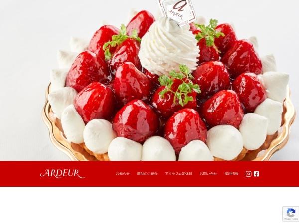 Screenshot of www.ardeur.co.jp