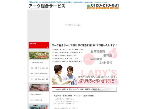 Screenshot of www.arkss.com