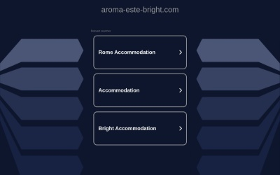 Screenshot of www.aroma-este-bright.com