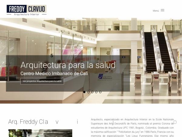 Captura de pantalla de www.arqinterior.co