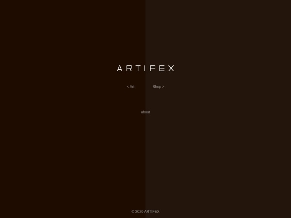 Screenshot of www.artifex.co.jp
