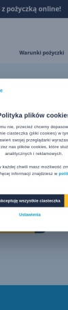 Screenshot of www.asakredyt.pl
