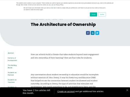 The Architecture of Ownership