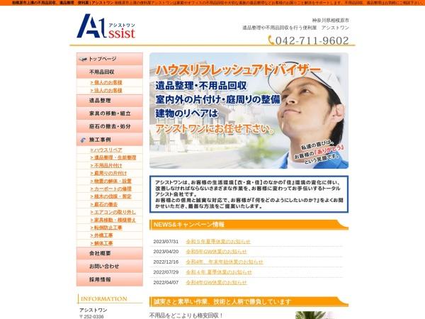 Screenshot of www.assist1-hp.net