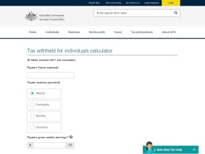 http://www.ato.gov.au/Calculators-and-tools/Tax-withheld-calculator/Individual-Non-business-Calculator.aspx